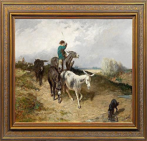 EVARISTE VITAL LUMINAIS (1822 Nantes - 1896 Paris)