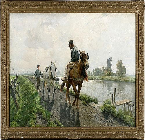 FRANZ GUSTAV HOCHMANN (1861 Dresden - 1936 ebenda)