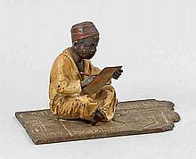 Seltener Araberknabe mit Schreibtafel