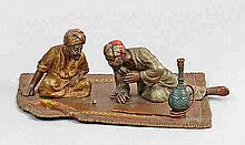 Zwei Araber beim Würfelspiel