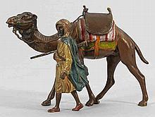 Beduinenkrieger mit Kamel