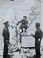 Hein Gorny, Amerikanische und russische Alliierte in Trümmern. 1945.