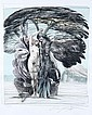 Ernst Fuchs, Baum der Erkenntnis. No date.
