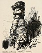 Paul Groß, Acht Landschaftsdarstellungen der