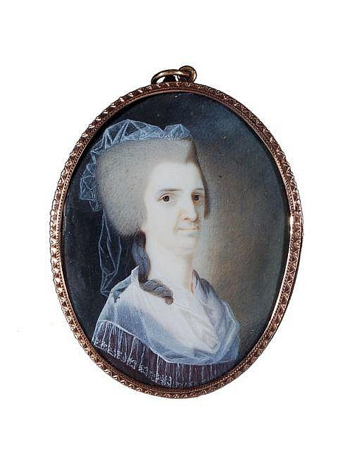 Verschiedene KünstlerDrei Portrait-Miniaturen. Ende 19. Jh./ Early 20th cent.
