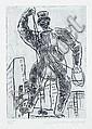 Verschiedene Dresdner Künstler, Sechs Arbeiten Dresdner Künstler. 1960's.