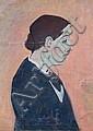 Max Möbius, Portrait einer Dame. 1932.