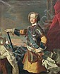 Jean-Baptiste van Loo(Umkreis), Bildnis des jungen Königs Ludwig XV. von Frankreich (1715-1774). Wohl um 1723.