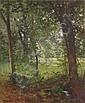 Henri Biva, Waldquelle im Frühjahr. 2nd half 19th cent.