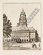 Georg Jahn, Dresden - Altstädter Rathaus. Um 1910.