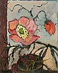 Michele Cyranka, Stilleben mit roter Blume. No date.