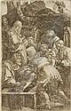 Albrecht Dürer, Die Grablegung. 1512.