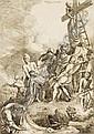 Christian Wilhelm Ernst Dietrich (Dietricy), Kreuzabnahme. 1742.