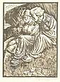 Rudolf Nehmer, Drei Holzschnitte mit Menschenbildern/