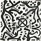 A. R. Penck, Figurenkomposition.