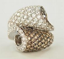 Ladies Diamond Pave' ring