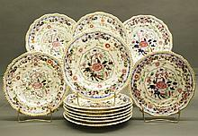 12 Worcester plates
