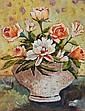 Dominique Desmeues---Les Roses  Et Les Pivoines