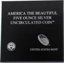 2012-P America the Beautiful Acadia National Park Silver Bullion Coin