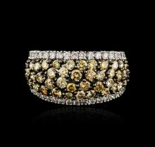 18KT Two-Tone Gold 2.29ctw Diamond Ring
