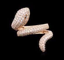14KT Rose Gold 1.23ctw Diamond Ring
