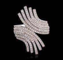 14KT White Gold 0.69ctw Diamond Ring