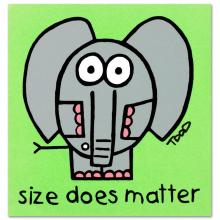 Size Does Matter by Todd Goldman