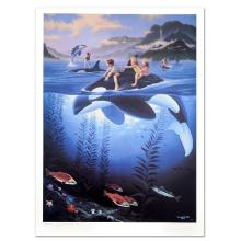 Whale Rides by Wyland and Warren