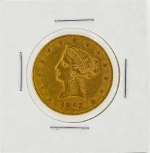 1892 $10 AU Liberty Head Eagle Gold Coin