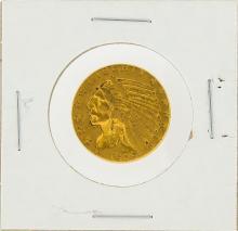 1909 $5 XF Indian Head Half Eagle Gold Coin