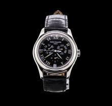 Patek Philippe Annual Calendar Platinum Watch
