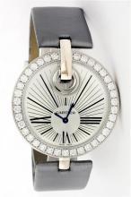 Ladies Cartier 18KT Gold 1.89ctw Diamond Captive De Cartier Wristwatch