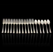 Old French by Gorham Circa 1905 Antique Sterling Lot of (17) Pieces