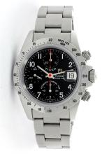Gents Tudor Stainless Steel Prince Date Tiger Wristwatch