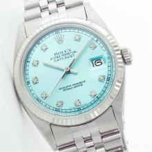 Gents Rolex Stainless Steel DateJust Wristwatch