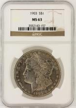 1903 NGC MS63 Morgan Silver Dollar