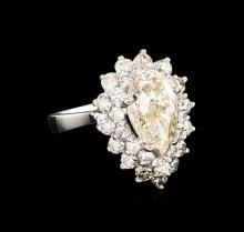 14KT White Gold 4.69 ctw Diamond Ring