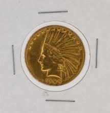 1909-S $10 Indian Head Eagle Coin