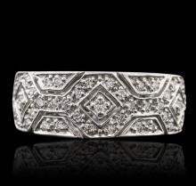 14KT White Gold 0.43ctw Diamond Ring