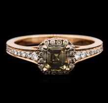 14KT Rose Gold 1.45ctw Diamond Ring