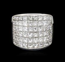 14KT White Gold 8.10ctw Diamond Ring