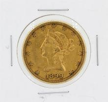 1899-S $10 XF Liberty Head Eagle Gold Coin