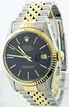 Rolex 14KT Two-Tone DateJust Men's Watch
