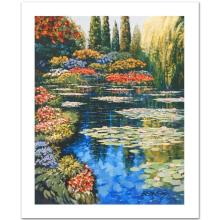 Shimmering Waters - Giverny by Behrens (1933-2014)