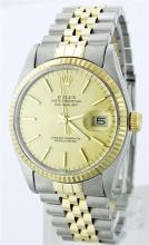 Rolex Two Tone DateJust Men's Watch