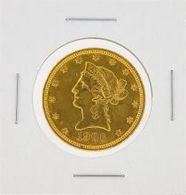 1906 $10 AU Liberty Head Eagle Gold Coin