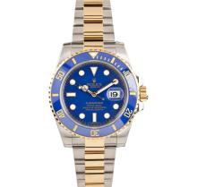 Rolex Two Tone Gold Submariner Men's Watch