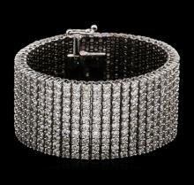 14KT White Gold 47.05 ctw Diamond Bracelet