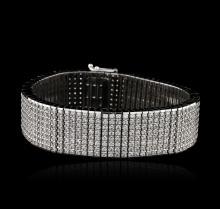14KT White Gold 15.43 ctw Diamond Bracelet