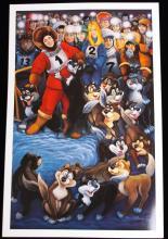 Alaska Iditarod by G.R. Cassarino Walt Disney Artist